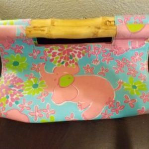 Lilly Pulitzer Bamboo Clutch
